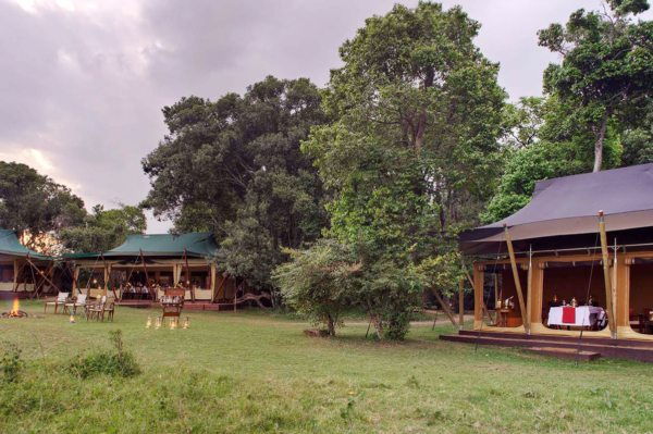 Elephant Pepper Camp is small and exclusive, located away from other lodges in the Masai Mara. © Elewana Collection