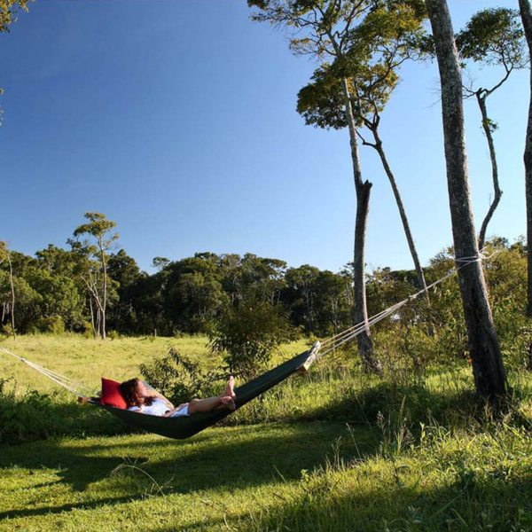 While away some time in a hammock at Elephant Pepper Camp. © Elewana Collection
