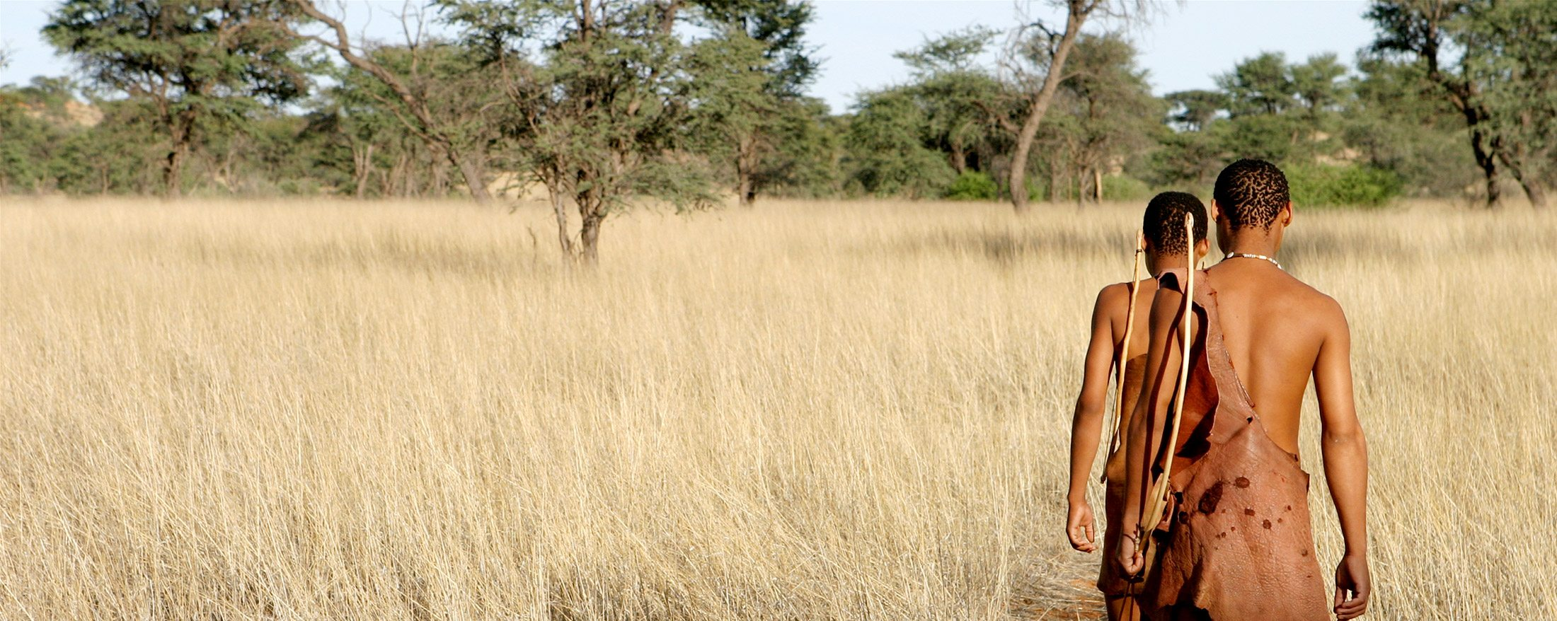 The local San know exactly where you should go in the Central Kalahari.