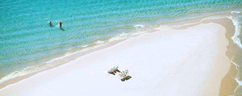 At Azura Benguerra Island you can enjoy a remote beach picnic.