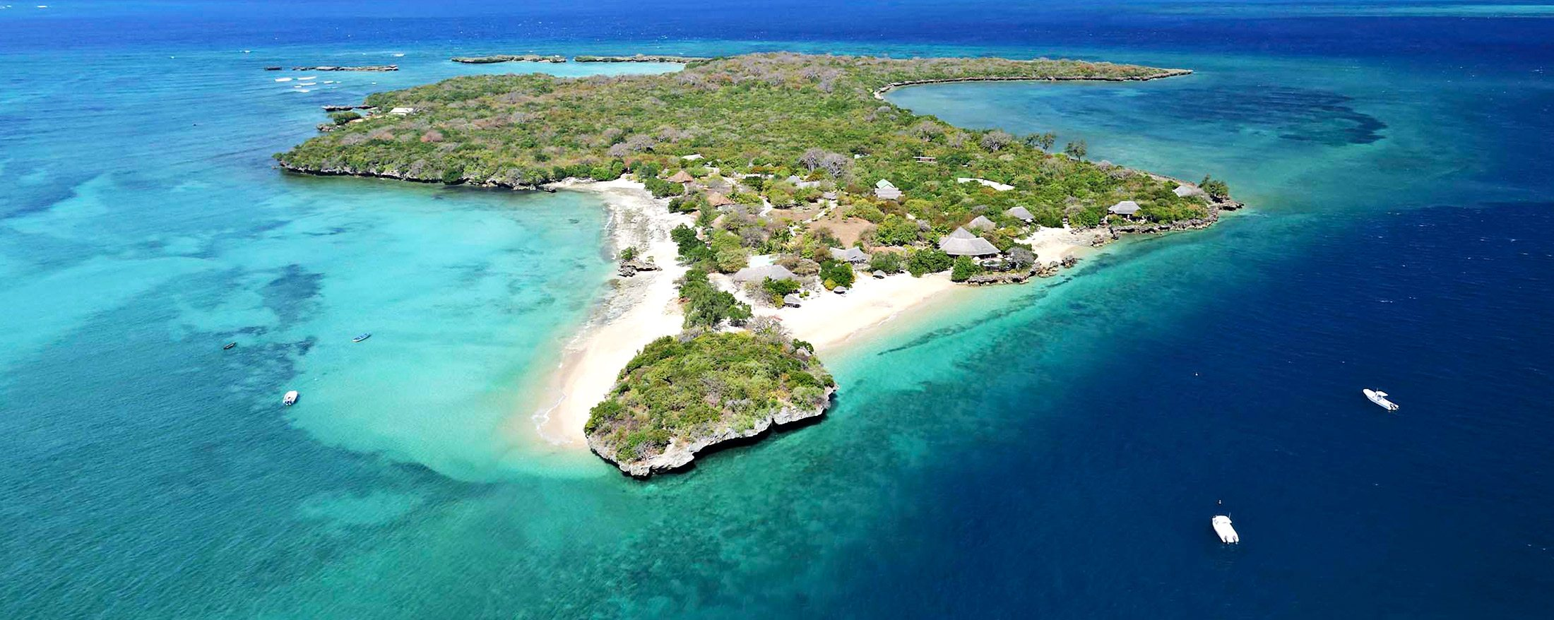 Getting to the remote Azura Quilalea Private Island involves an exciting helicopter ride.