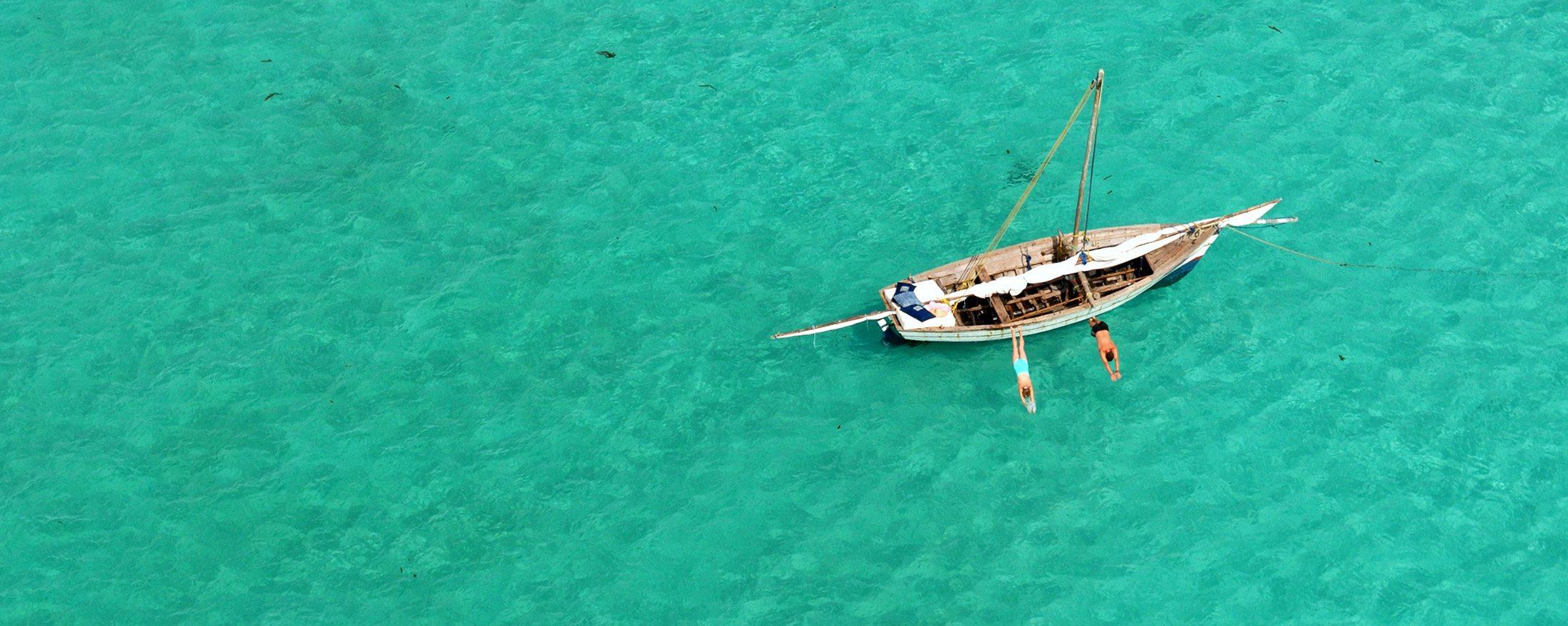 The clear waters of Vamizi Island invite plenty of snorkelling.