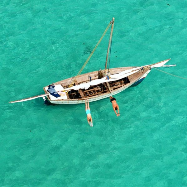 The clear waters of Vamizi Island invite plenty of snorkelling. © &Beyond