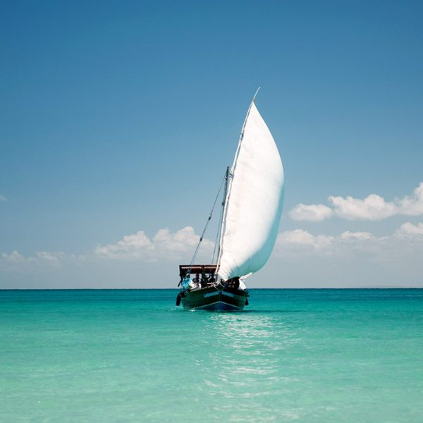 The wind will be in your sails, literally and figuratively, when you go island hopping in the Quirimbas. © Ibo Island Lodge