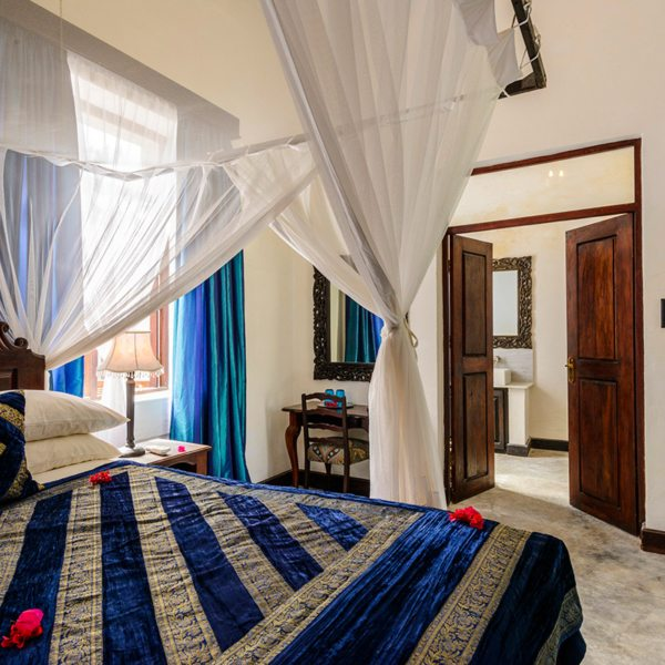 he rooms at Ibo Island Lodge are airy and calm. © Ibo Island Lodge