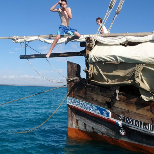 Island hopping in the Quirimbas makes for a fantastic family holiday. © Ibo Island Lodge