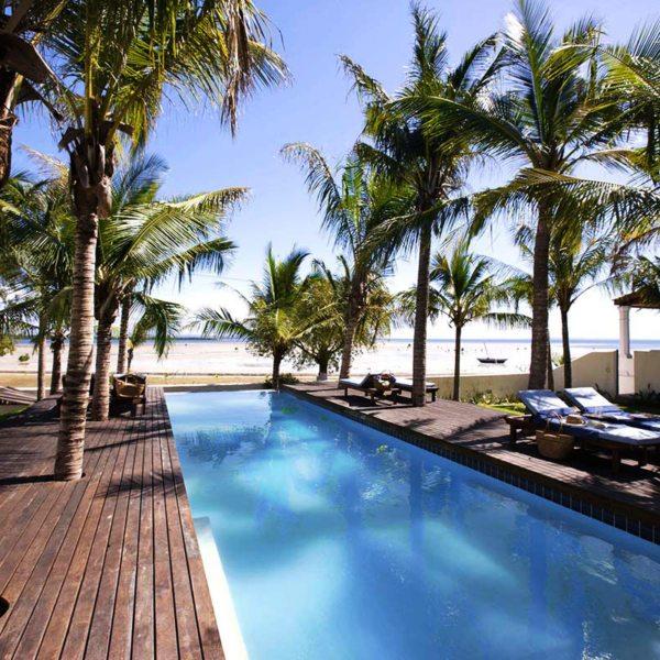 Ibo Island Lodge has three inviting swimming pools. © Ibo Island Lodge
