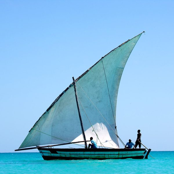 A dhow cruise from Vamizi Island lets you get a feel for traditional Mozambique life. © &Beyond