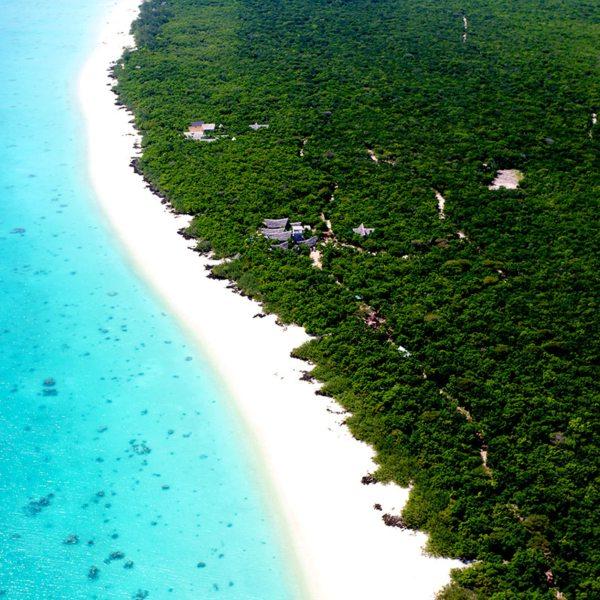 Vamizi Island is set in a pristine marine conservation area. © &Beyond