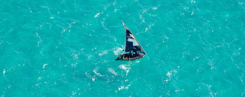 You'll see plenty of dhows on your luxury escape to Mozambique.