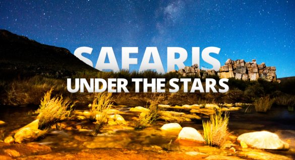 Sleeping under Africa's skies is an amazing African safari experience.
