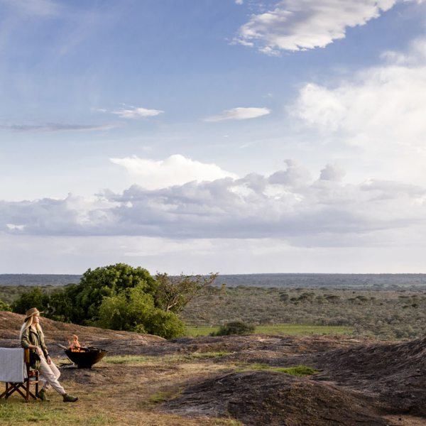 Sanctuary Kichakani Serengeti Camp allows for an authentic safari experience.