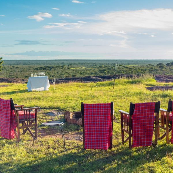 Sanctuary Serengeti Migration Camp allows for an authentic safari experience.