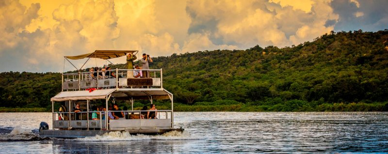 Enjoy a Nile River excursion to Murchison Falls from Baker's Lodge.