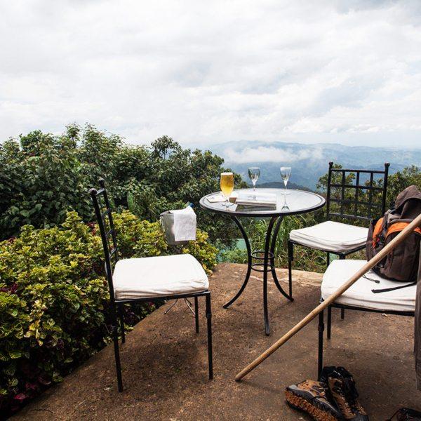 Treat yourself to a refreshing beer after gorilla trekking in Bwindi. © Uganda Safari Company