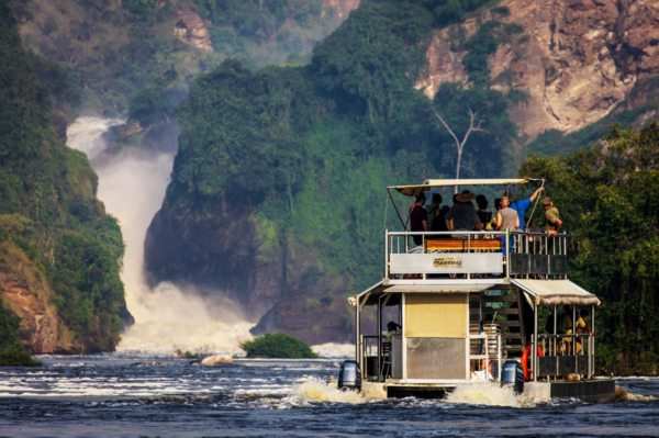 The impressive Murchison Falls can be seen near Baker's Lodge. © Baker's Lodge