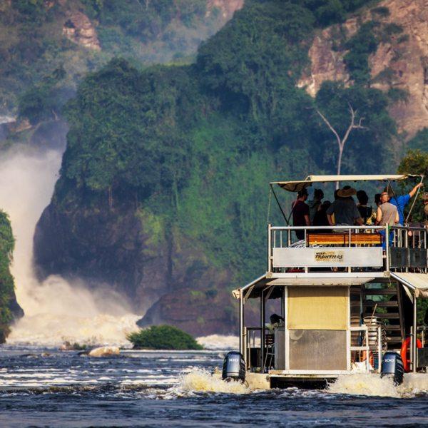 The impressive Murchison Falls can be seen near Baker's Lodge. © Baker's Lodge