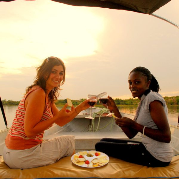 End your day at Baker's Lodge with a sunset cruise along the Nile. © Baker's Lodge