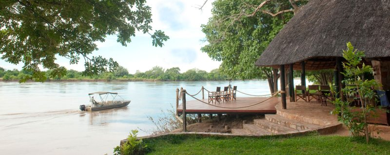 Nkwali is set on private land overlooking the Luangwa River.