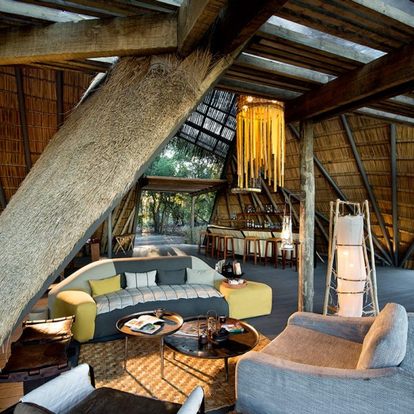 King Lewanika Lodge's guest area is chic but cosy. © Time + Tide