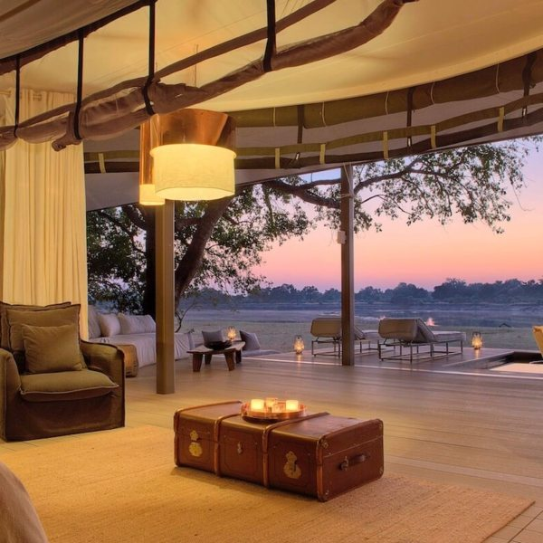 Chinzombo's villas are spacious and comfortable. © Time + Tide