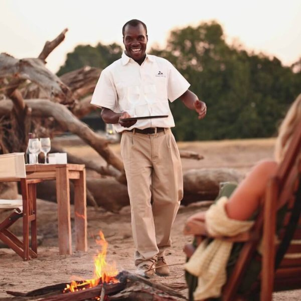 Chinzombo's staff will take excellent care of you. © Time + Tide