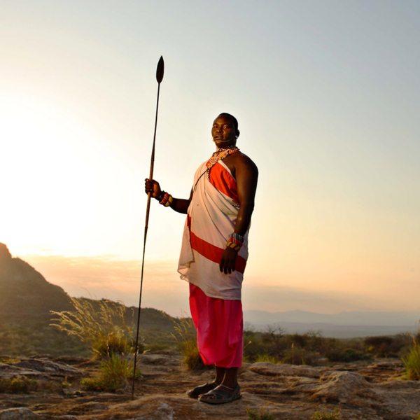 Meet the majestic Samburu people during your Warriors Academy.