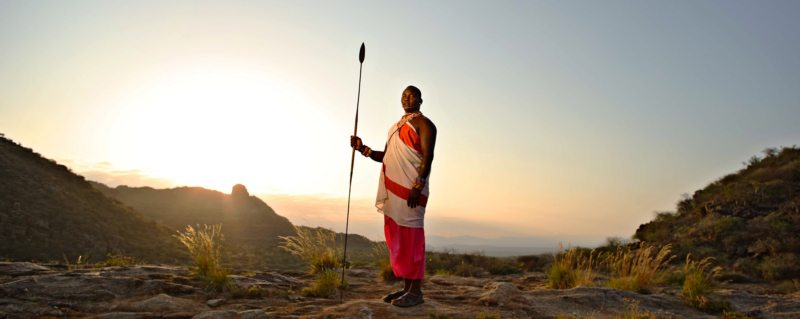 Meet the majestic Samburu people during your Warriors Academy.