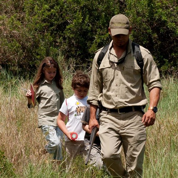 Your private tracker will take the kids on bush outings near Melton Manor.