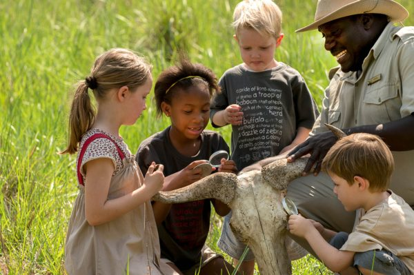 The kids will learn loads when staying in the family suite at Phinda Mountain Lodge.