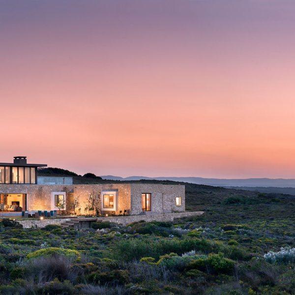 Ocean House is set in the pristine De Hoop Nature Reserve.