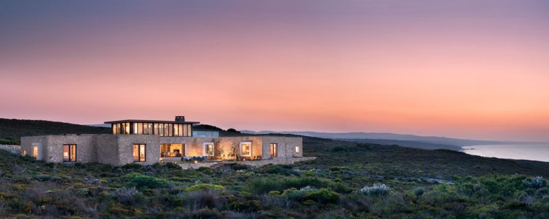Ocean House is set in the pristine De Hoop Nature Reserve.