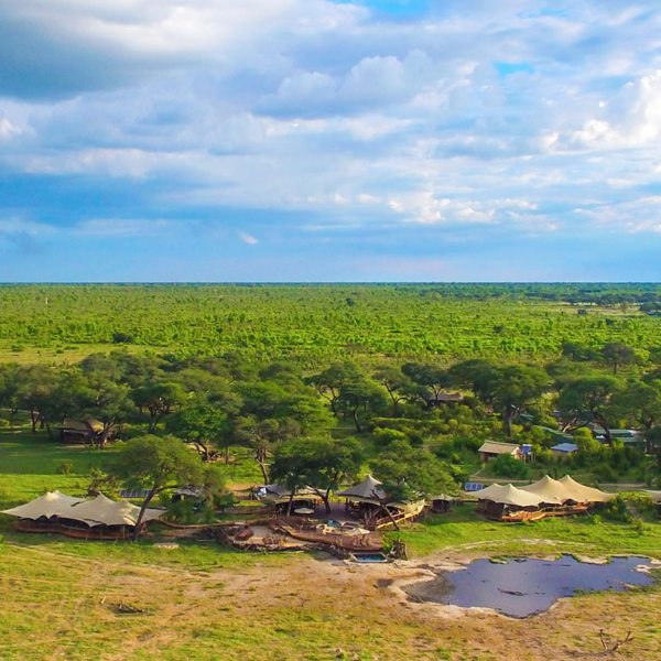 Somalisa Acacia is set in a private concession in Hwange National Park.