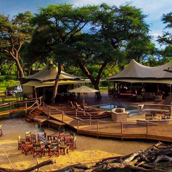 Somalisa Acacia has just four guest tents.