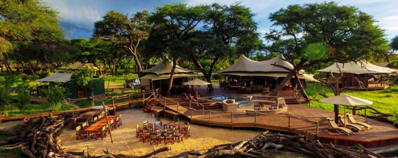 Somalisa Acacia has just four guest tents.