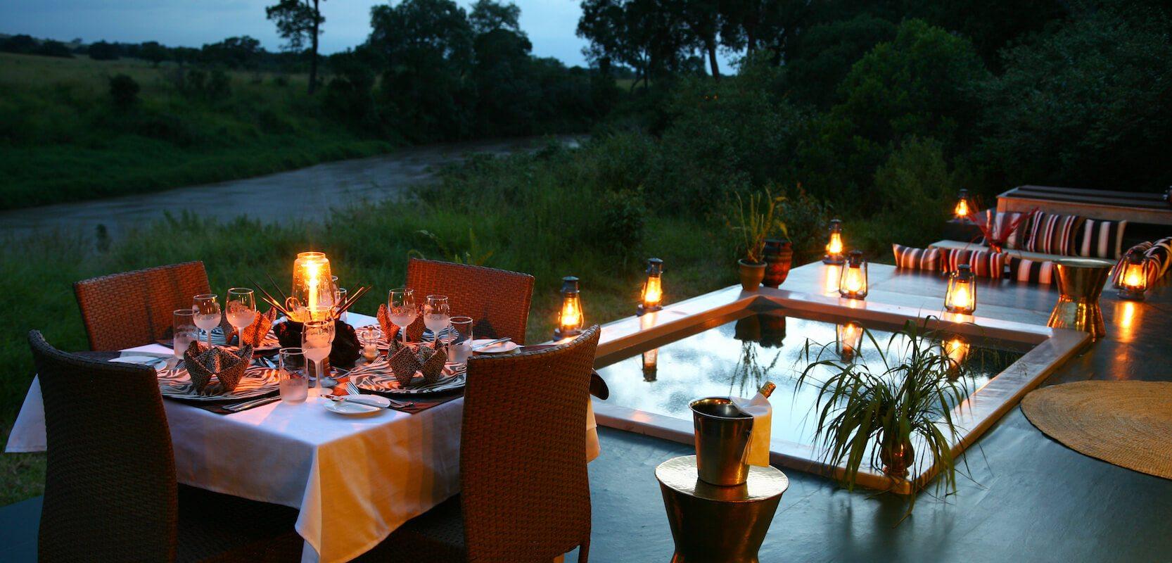 Kenya_MasaiMara_Salas Camp Family Suite Private Dining