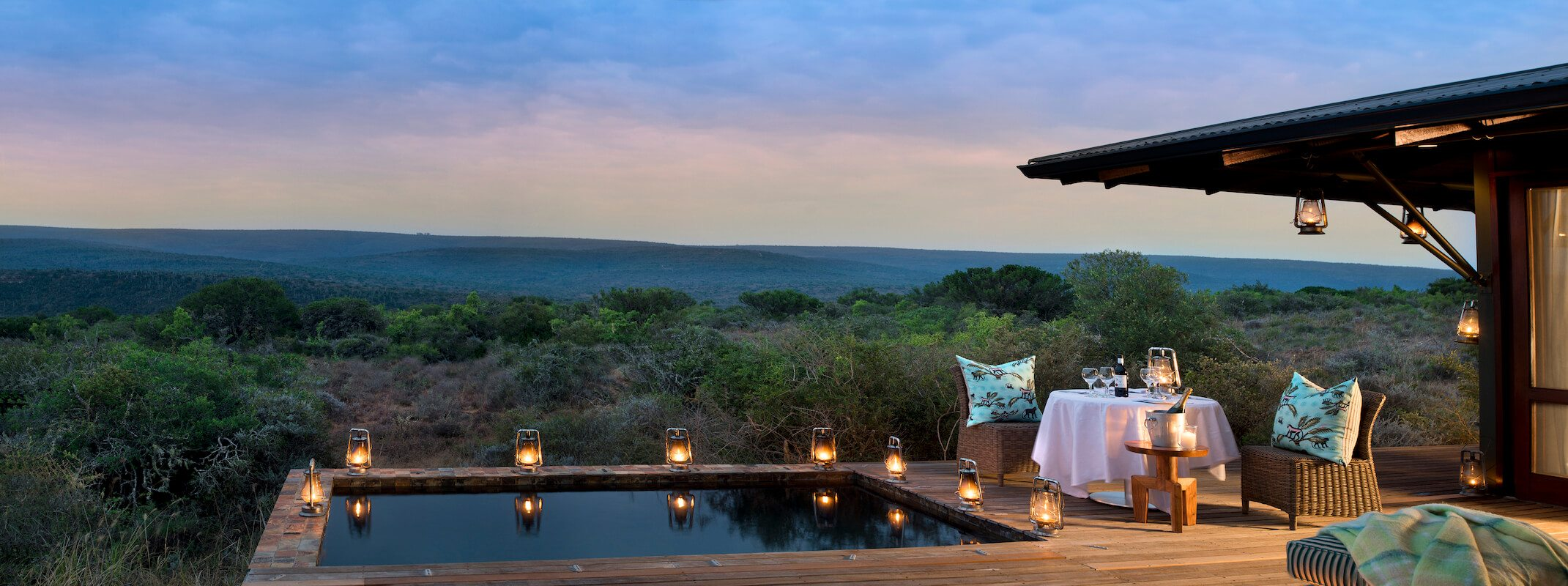 SouthAfrica_GardenRoute_KwandwePrivateGameReserve_EccaLodge_Private Dining