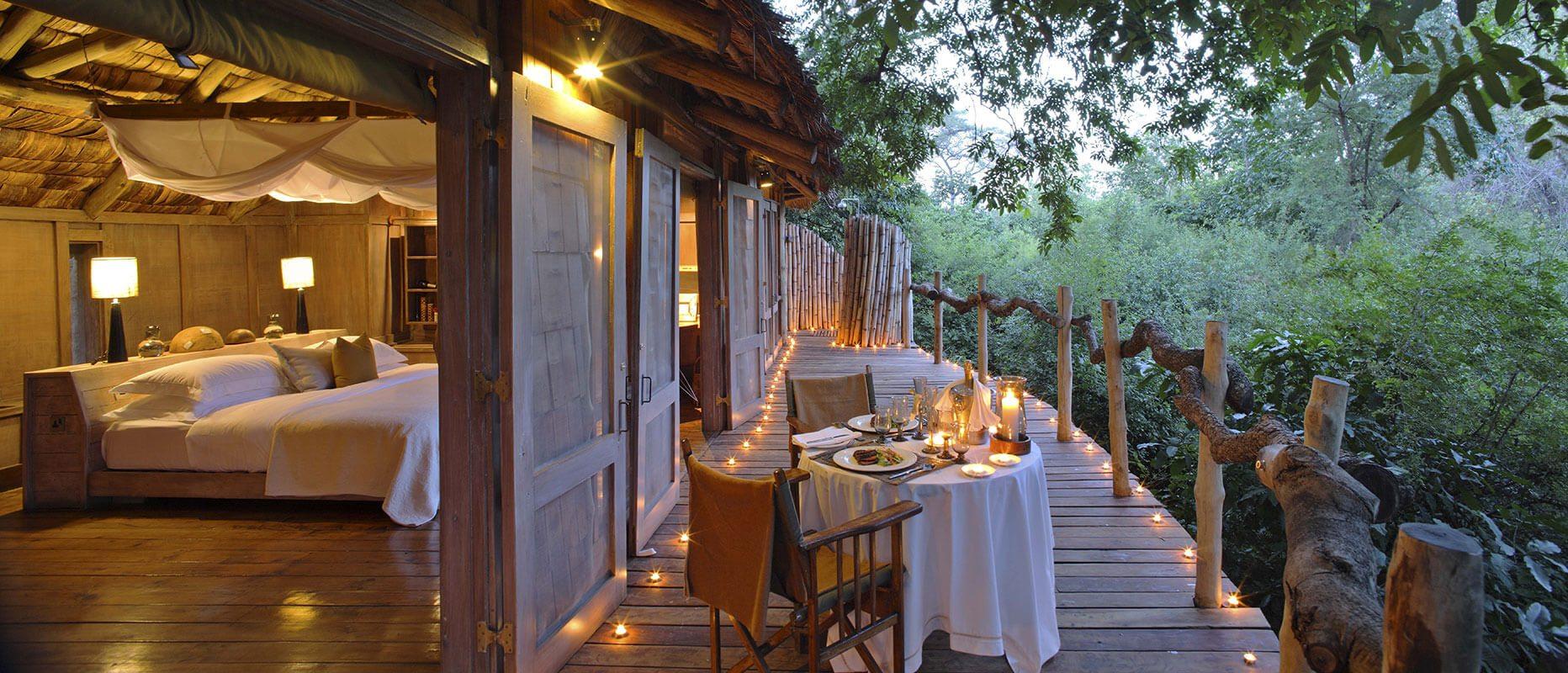 Tanzania_NorthLakeManyara__Beyond Lake Manyara Private Dining In Room