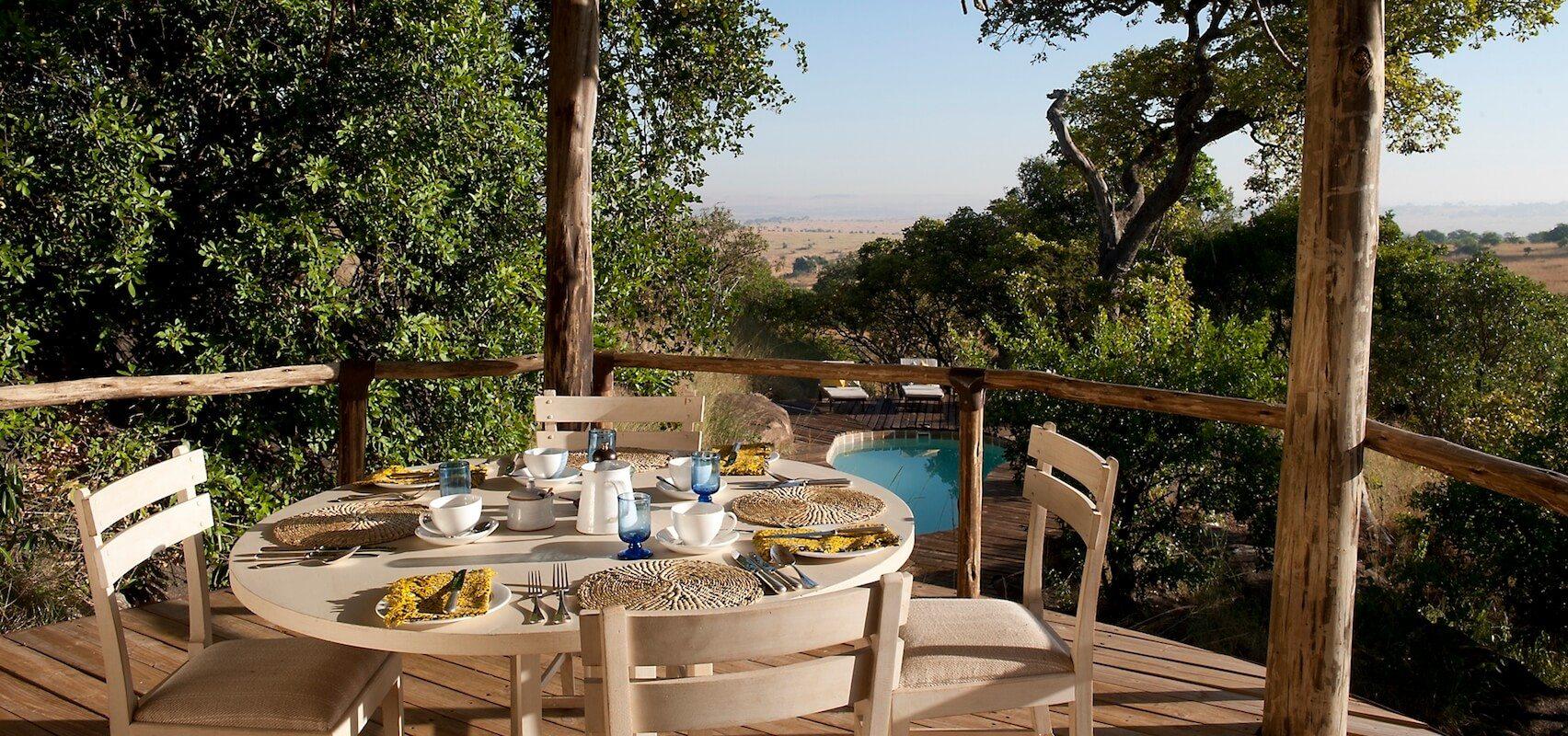 Tanzania_NorthSerengeti_Nomad Lamai Serengeti Private Lodge Dining
