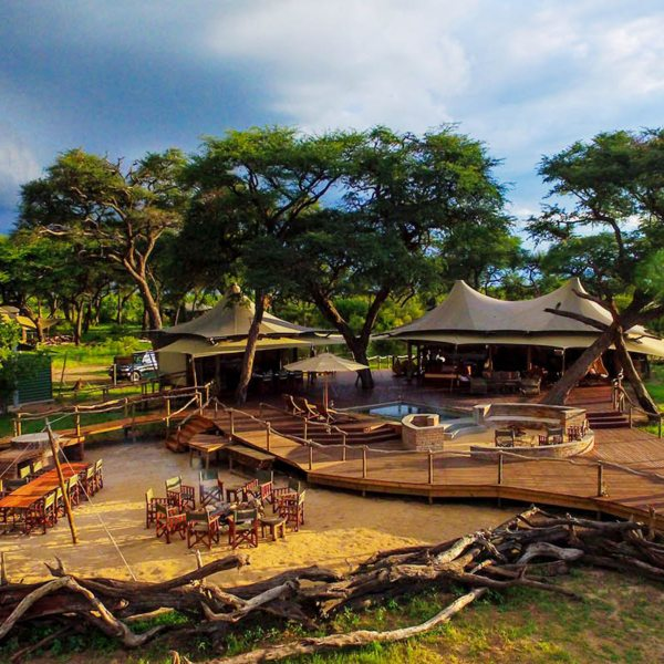 Somalisa Acacia has just four guest tents. © African Bush Camps