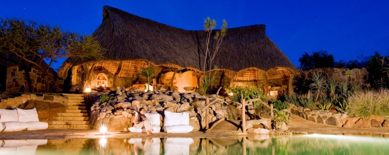 Ol Malo House is situated in Kenya's rugged north.