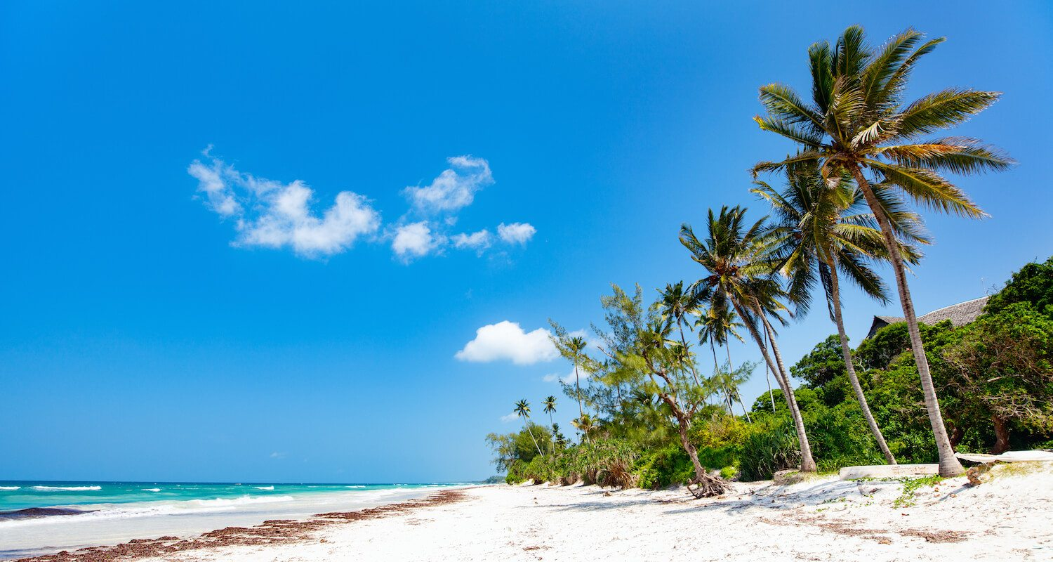 Kenya's south coast beaches are at their best from mid June to late October.