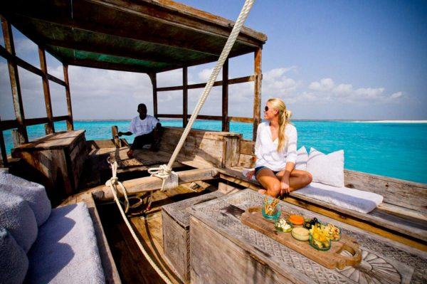 A dhow cruise from Zanzibar lets you absorb the history of the Spice Islands. © &Beyond