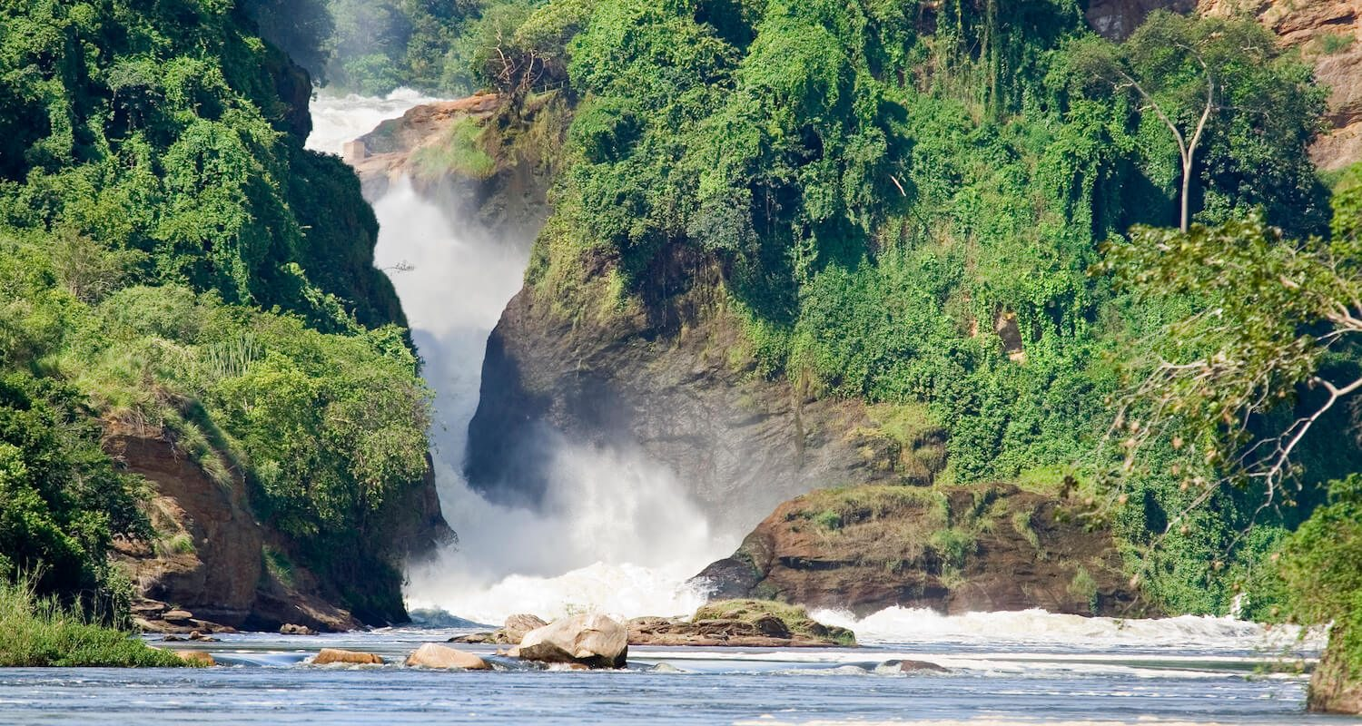 Murchison Falls get increasingly impressive as water levels rise, closer to November.