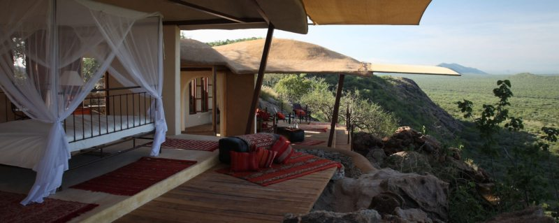 There are just six villas at Saruni Samburu. © Saruni