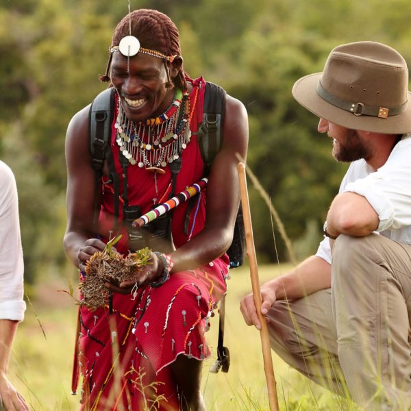 Learn all about the Masai Mara on walking safaris.
