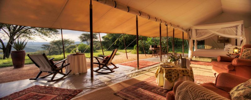 Cottar's 1920s Camp is a throwback to the golden era of Kenyan safaris. © Cottar's 1920s Camp