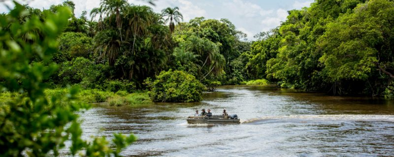 Your all-inclusive luxury Congo safari itinerary will showcase the best of Odzala-Kokoua National Park. © Odzala Discovery Camps