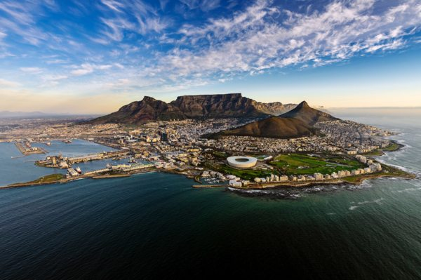 End your journey in the magnificent Cape Town.