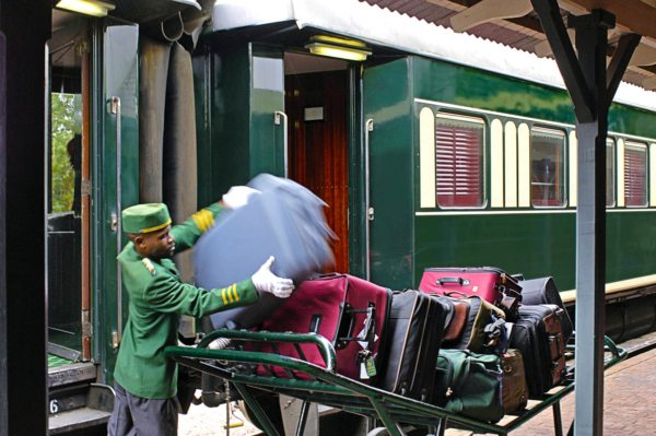 The staff will take good care of you on your luxury train safari. © Rovos Rail